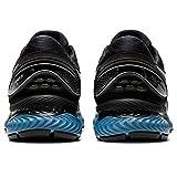 ASICS Men's Gel-Nimbus 22 Black/Grey Floss Running Shoes-6 UK (40 EU) (7 US) (1011A680)