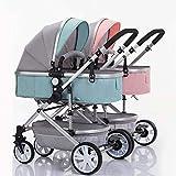 GHH Geschwisterkinderwagen, Babys Und Kleinkinder, Seite An SeiteUltraleichte Faltbare Kind...
