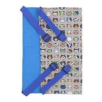 TAMRG Hamac pour Chat Hamac de Cage de Fer Universel Double Face Chat Gris balançoire hamac de Chat en Toile Respirante pour Animaux de Compagnie Couchage et mobilier pour Chats