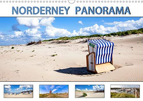 NORDERNEY PANORAMA (Wandkalender 2021 DIN A3 quer)