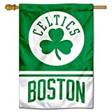 WinCraft Boston Celtics Shamrock Two Ply and Double Sided House Flag