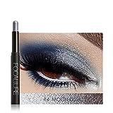 Stick de sombra de ojos, lápiz de sombra de ojos multicolor Shimmer Smoky Eyeshadow Pencil Lápiz de sombra de ojos resistente al agua de larga duración para maquillaje(#4)