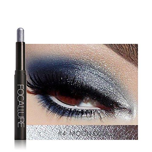 Eyeshadow Pen, 12 Farben Lidschatten Stift liegend Seidenraupe Eyeliner Stick Make-up Kosmetik Werkzeug(#4)