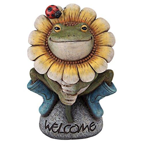 Garden Welcome Statue