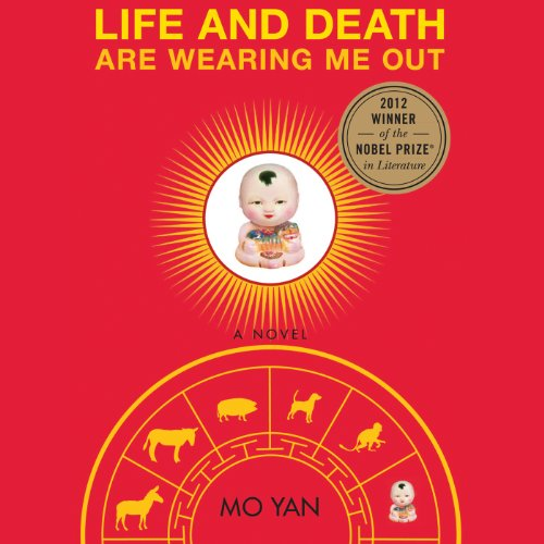 Life and Death are Wearing Me Out audiobook cover art