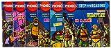 Product Image of the Phonics Power! (Teenage Mutant Ninja Turtles): 12 Step into Reading Books