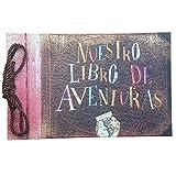 LINKEDWIN Nuestro Libro De Aventuras, our adventure book, Nuestro libro de aventuras, Álbum de fotos temáticas en versión en español, Libro de recuerdos de bricolaje, Libro de visitas de boda