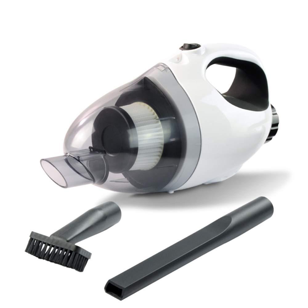 NCKPDL Mini Sin Cable Mini Vacuum Cleaner, Portátil Aspiradora para Coche Inicio Succión Húmedo Seco Coche Hoover con Filtro HEPA Cepillo Tubo Largo Manguera Extensión, Tubo para Rincones: Amazon.es: Hogar