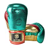 ASTSTAND Boxing Gloves, Muay Thai, Kickboxing Professional Gloves for Punch Bag (Green, 10oz)
