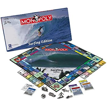 USAopoly Surfing Monopoly MN030000