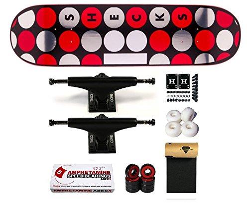Plan B Skateboard completo Sheckler Dots 8,25