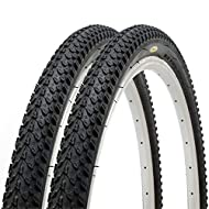 """Size : 26"""" x 2.125"""". Suitable for 26"""" bicycle wheel. ETRTO 57-559 High quality nylon construction. Full manufacturer warranty Solid offroad pattern for better grip Consist of 2 tyres Best price-quality ratio mountain bicycle tyres"""