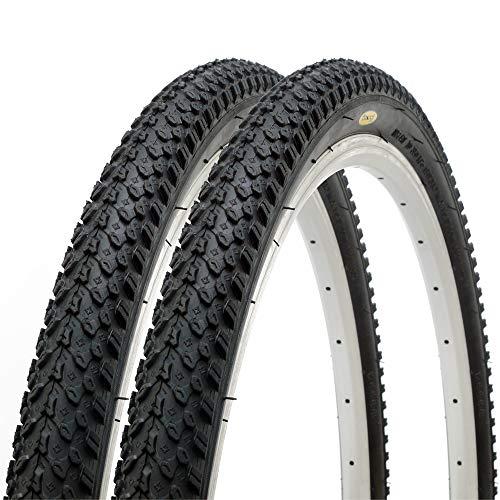 Coppia di Fincci Pneumatici Ibridi per Bicicletta MTB 26 x 2,125