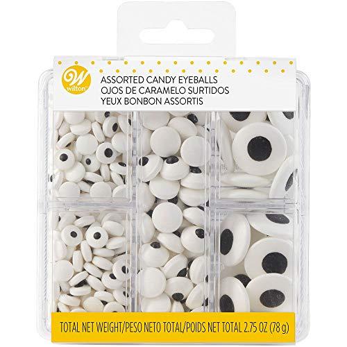 Assorted Candy Eyeballs Tackle Box
