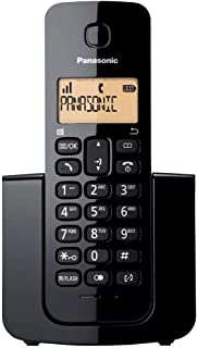 Panasonic KX-TGB110ALB Digital Cordless Phone, Black