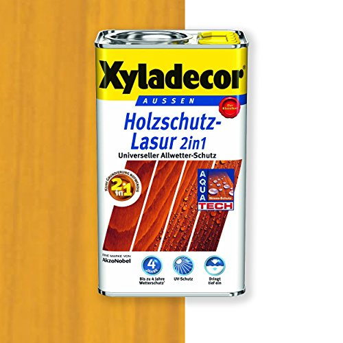 Xyladecor Holzschutz-Lasur 2in1 (750 ml, eiche hell)