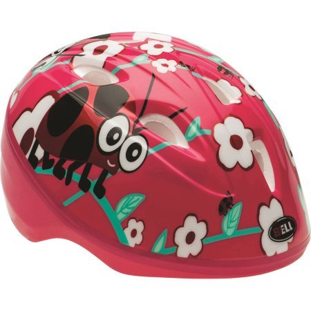 Bell True Fit Sprout Pink Ladybug Bike Helmet