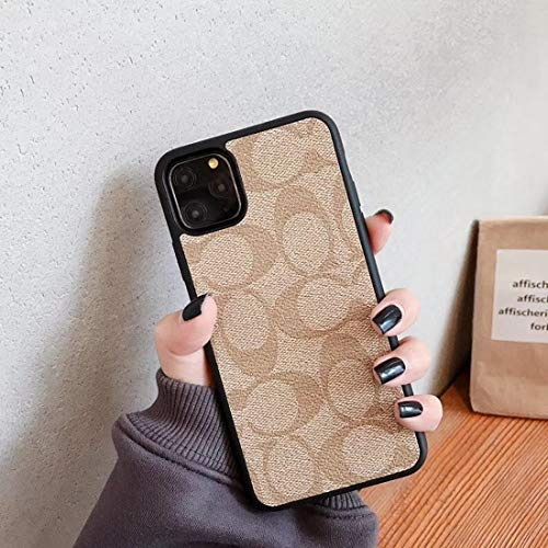 Case for iPhone 12 pro max,PC+TPU Leather, Non-Slip, Drop-Proof, Shock-Proof and All-Round Protection Dual-C Phone case.
