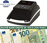 RILEVATORE BANCONOTE PORTATILE ANCHE A BATTERA O CON FILO RILEVA CONTA SOLDI EURO VERIFICA FALSI USB 2019