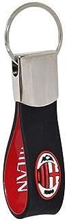 Milan Schlüsselanhänger aus weichem Gummi, offizielles Produkt, Geschenkidee, Rossoneri.