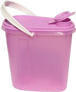Tupperware 2 Quart Slim Line Refrigerator Pitcher Beverage Buddy Container Purple