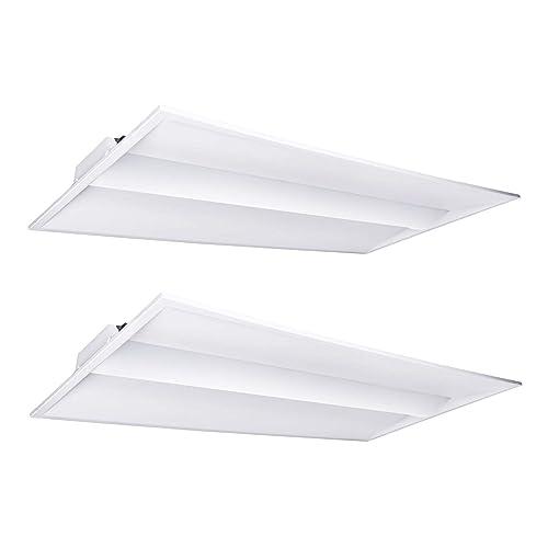2x4 LED Light Fixture: Amazon com