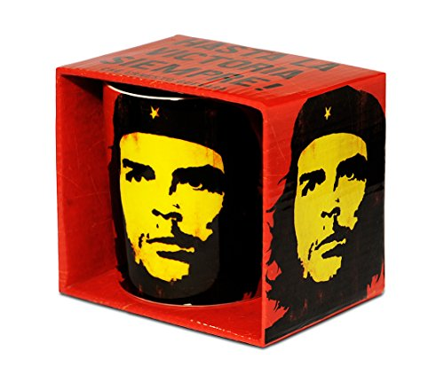 Logoshirt Vintage Che Guevara Porzellan Tasse - Kaffeebecher - rot - Lizenziertes Originaldesign