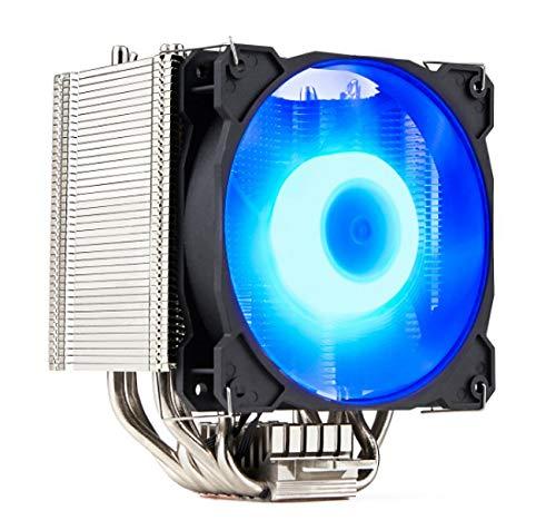GELID SOLUTIONS Sirocco - Raffreddatore ad Aria CPU ad Alte Prestazioni con ventilatori PWM RGB   6 Tubi di Calore   Nichel di Alta Classe   TDP 200W