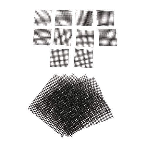 20pcs /Set Bonsai Blumentopf Abdecknetze, aus hochwetigem Kunststoff, 5.5cm + 15cm