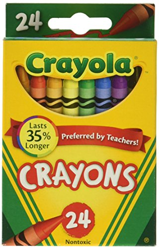 Crayola Crayons 24 Count Box- (6-Pack)