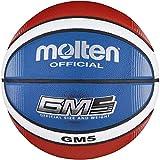Molten Top Training Basketball, Blau/Rot/Weiß, Größe 6