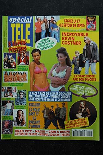spécial TELE n° 58 1995 + 8 POSTERS JEAN-CLAUDE VAN DAMME EAST 17 BEVERLY HILLS BRUEL VANESSA PARADIS HELENE