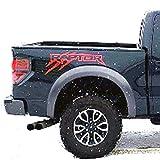 Raptor SVT Stickers bedside OUTLINE claw Scratch graphics decal sticker Ford F150 Set