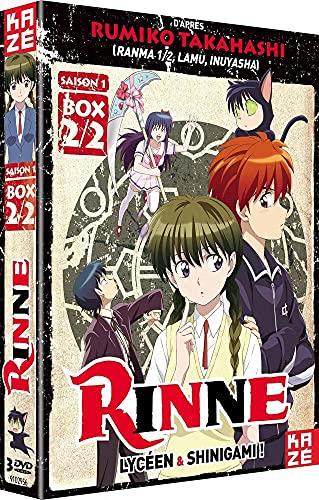 境界のRINNE 第1期 コンプリート DVD-BOX2 (13-25話, 285分)(Import)の拡大画像