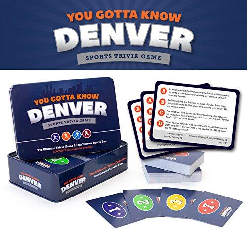 You Gotta Know Denver - Sports Trivia Game