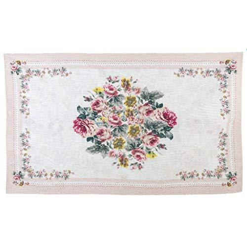 Blanc Mariclo Alfombra Elisir d'Amore Beige Floral 92 x 154 cm A30364