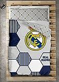 TEXTILONLINE - Funda Nordica 2 Pzas. Real Madrid Regate (Cama 105 cms, Color Unico)
