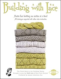 Building With Lace Book by Michelle Hunter- Knitting Pattern Book (8 1/2 X 11)