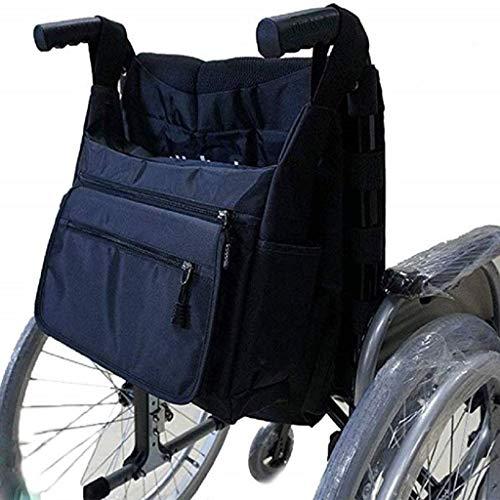 LYPDD La Bolsa Duradera Oxford Silla de Ruedas Mochila para la Espalda con Bolsillos Movilidad Dispositivos Accesorios Bolsas de Almacenamiento Silla de Ruedas para Personas de Movilidad Reducida