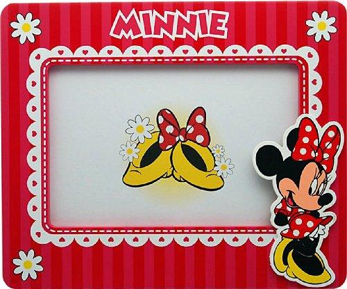 Disney 91009 - Minnie Cornice in Legno in Orizzontale, in Confezione Regalo, 19x2x16 cm