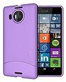 Tudia - Custodia protettiva per Microsoft Lumia 950 XL, ultra sottile, in TPU, completamente opaca