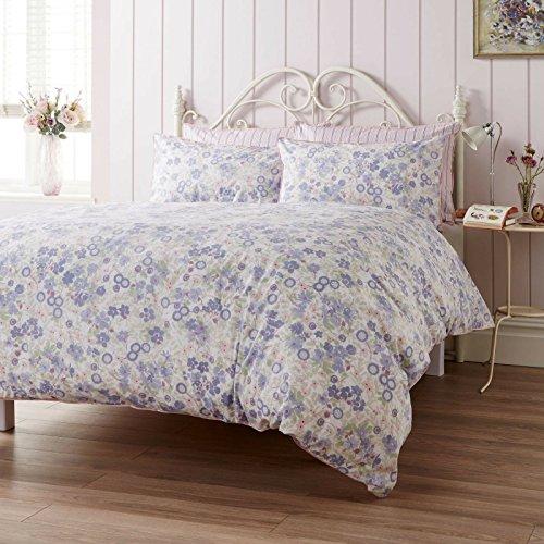 Ditton Hill Emmeline Lavender Super King Size Duvet Cover Set