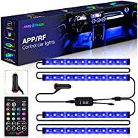 AMBOTHER A-AL-04 Interior Car LED Strip Lights with Car Charger
