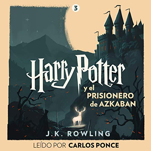 Harry Potter y el prisionero de Azkaban (Harry Potter 3) audiobook cover art