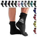 BPS Neoprene FIN Socks - Black, HIGH Cut (S)