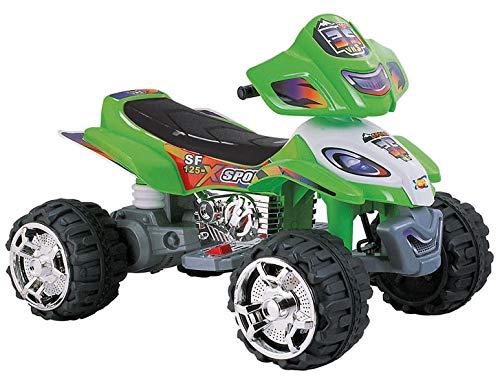 kidfun Quad Elettrico per Bambini 12V Verde