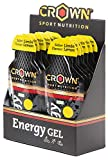 Crown Sport Nutrition Gel Energético - con o sin Cafeína -
