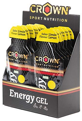 Crown Sport Nutrition Gel Energético - con o sin Cafeína