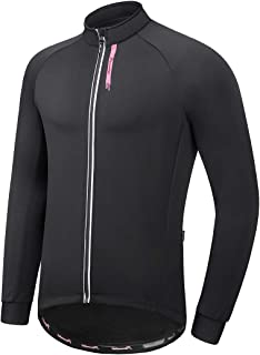 Przewalski Winter Cycling Jacket for Men Thermal Fleece Running Bike Softshell Jackets Windproof Breathable Coat