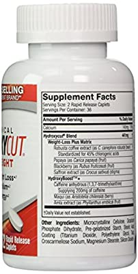 Hydroxycut Pro Clinical, America's #1 Selling Weight Loss Brand, 150 Caplets, Lose Weight, Increase Energy